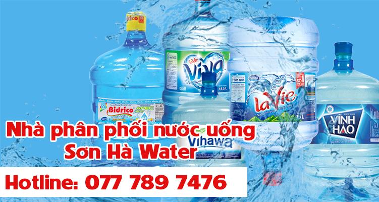 Giao nước uống quận 8 - Sơn Hà Water