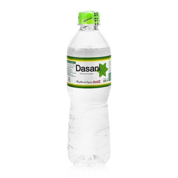 chai nước tinh khiết Dasani 500ml