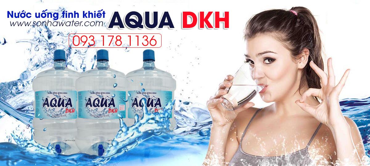 nước bình tinh khiết AQUA DKH 20L
