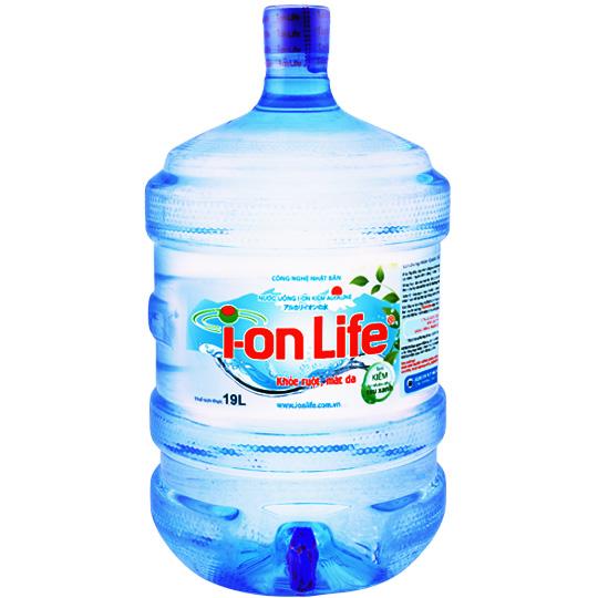 Bình I-on Life 19l có vòi