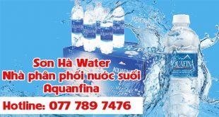 đại lý nước suối Aquafina quận 8