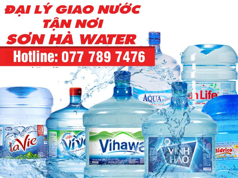 giao nước bình Sơn Hà Water
