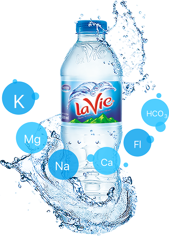 6 khoáng chất của nước LaVie