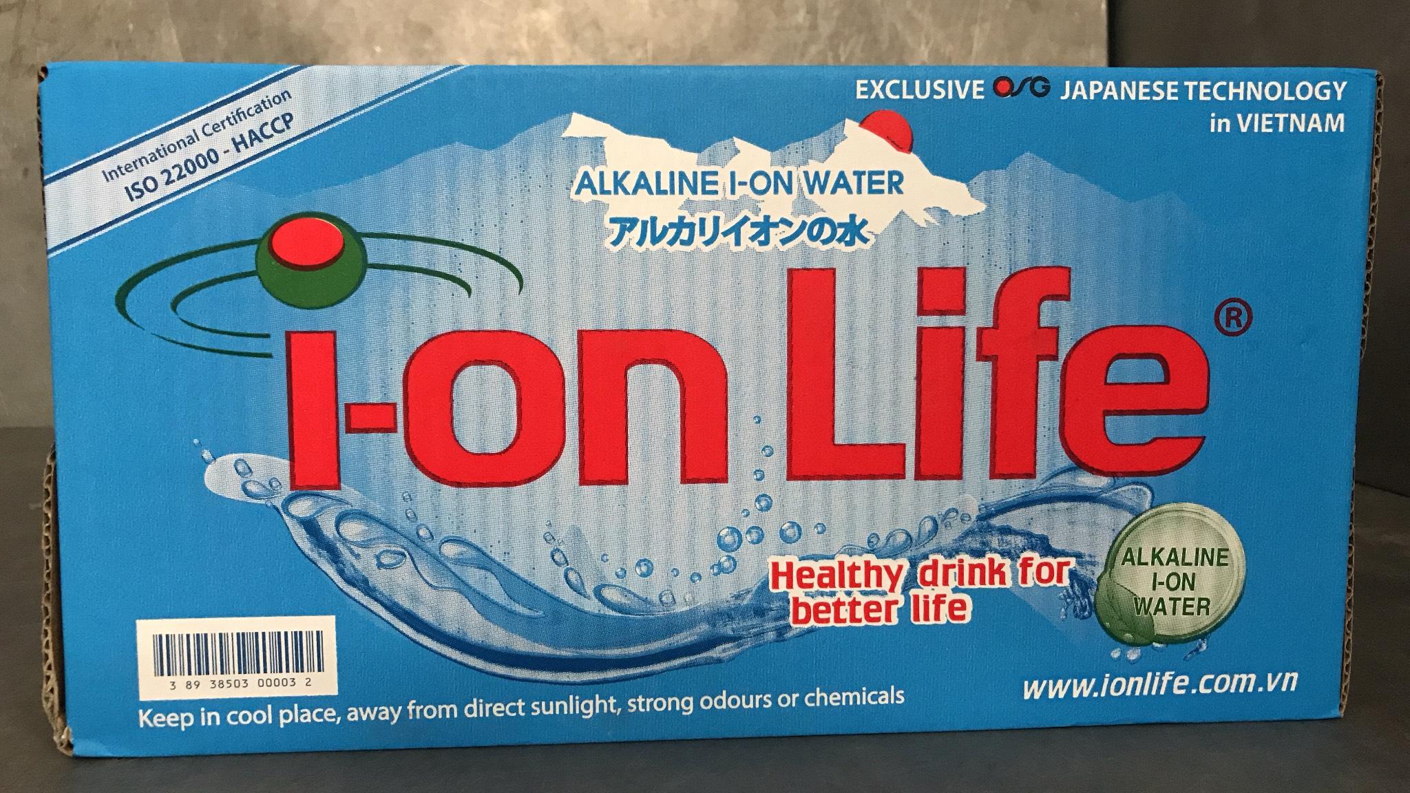 thùng nước Ion Life
