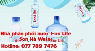 đại lý nước Ion Life