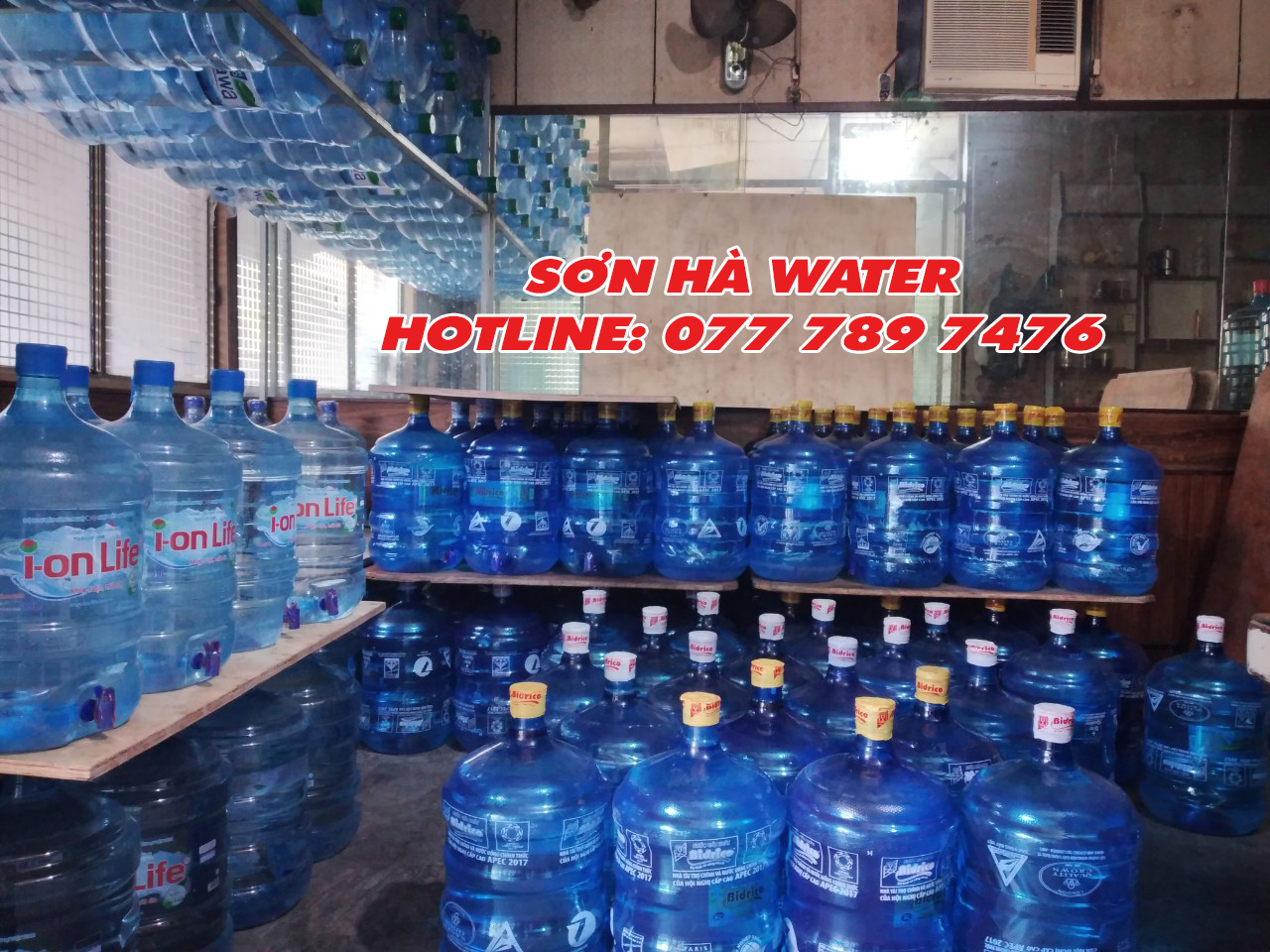 đại lý nước Bidrico Sơn Hà Water