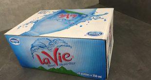 thùng nước suối LaVie