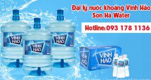 Đại lý nước khoáng Vĩnh Hảo Sơn Hà Water