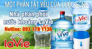 Đại lý giao nước khoáng LaVie Sơn Hà Water