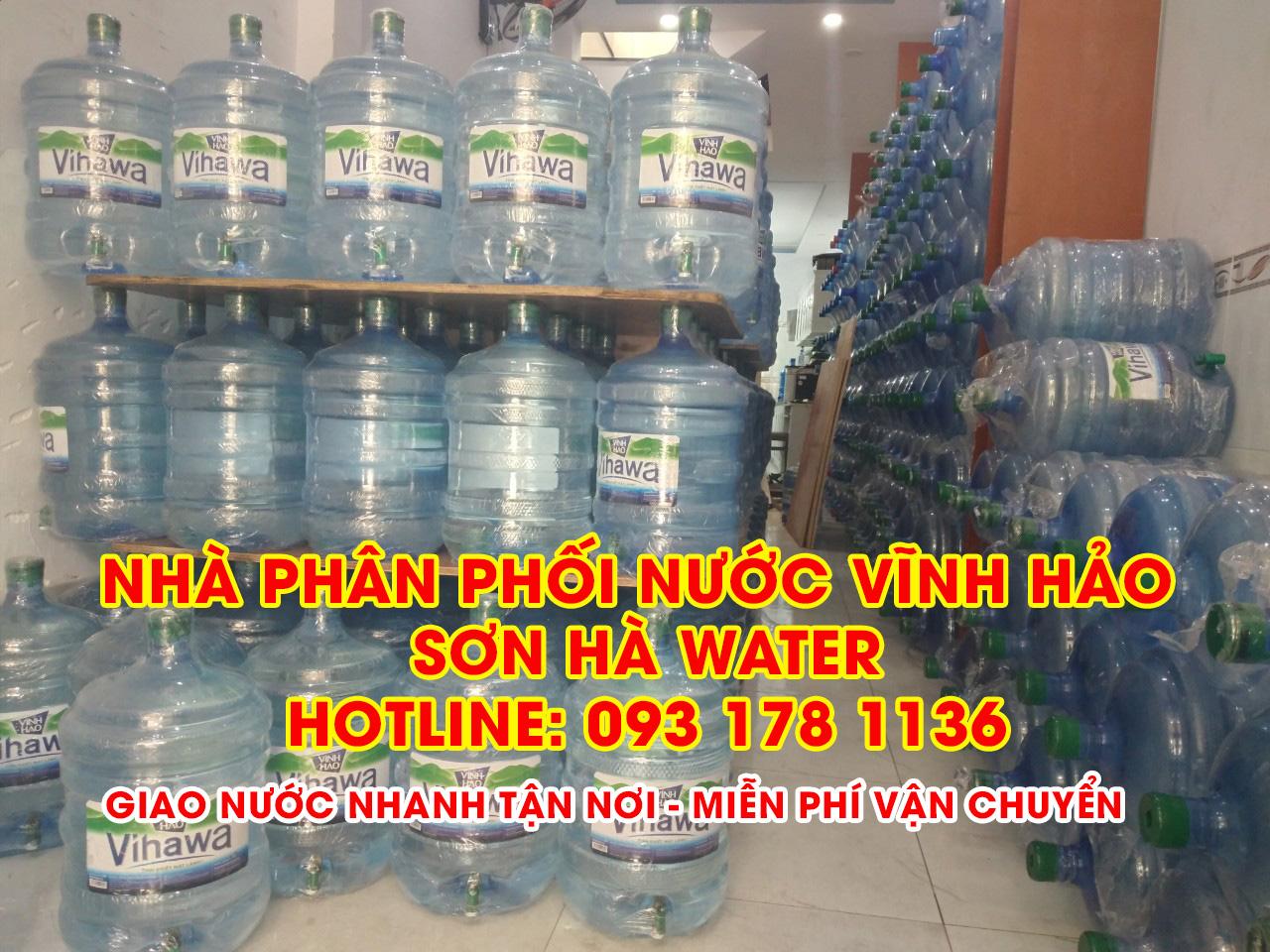 Nhà phân phối nước Vĩnh Hảo Sơn Hà Water