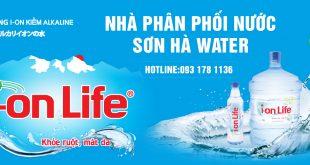 Đại lý nước uống Ion Life Sơn Hà Water