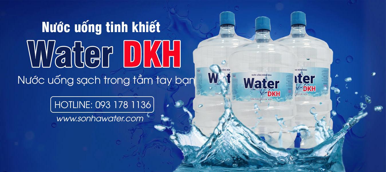 nước uống tinh khiết Water DKH